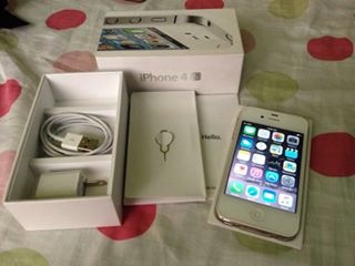 Iphone 4s white 16gb photo