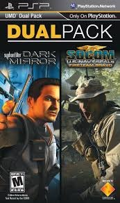 PSP UMD Dual Pack: Syphon Filter: Dark Mirror + SOCOM: U.S. Navy SEALs photo