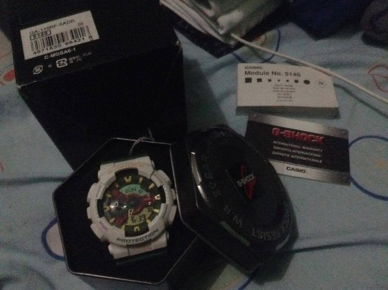 authentic gshock rastafarian photo