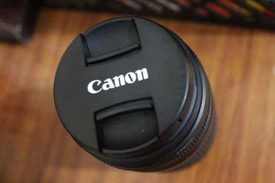Camera Lens Canon Zoom Lens EF 75-300mm F4-5.6 III photo