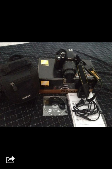 NIKON D3000 with UV FILTER photo