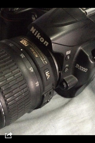 NIKON D3000 with UV FILTER image 2