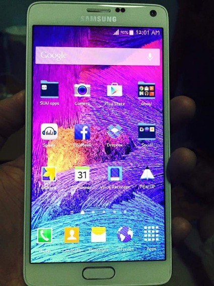 For Sale Samsung Galaxy Note 4 photo