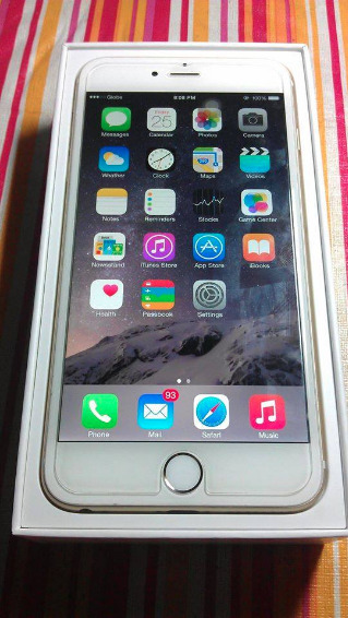 Apple Iphone 6 Plus 16gb GOLD LTE photo