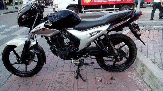Yamaha sz16 2013 mdl Black photo