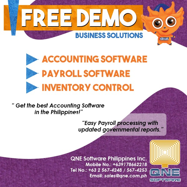 Payroll, Accounting and Inventory Software QNE photo