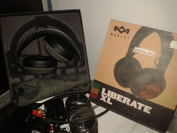 Marley Liberate XL Headphones photo