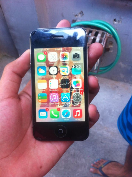 Iphone 4s 16gb black photo