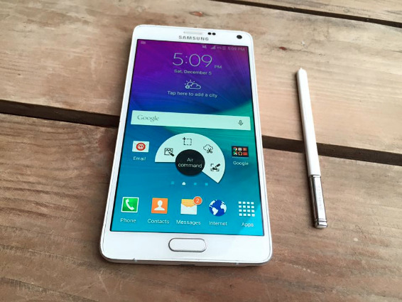 Samsung galaxy note 4 white 32gb ntc seal photo