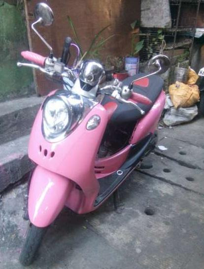 Yamaha fino converted photo