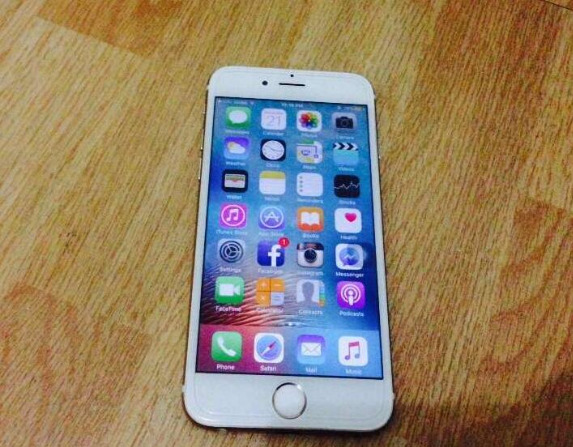 IPhone 6 silver white photo