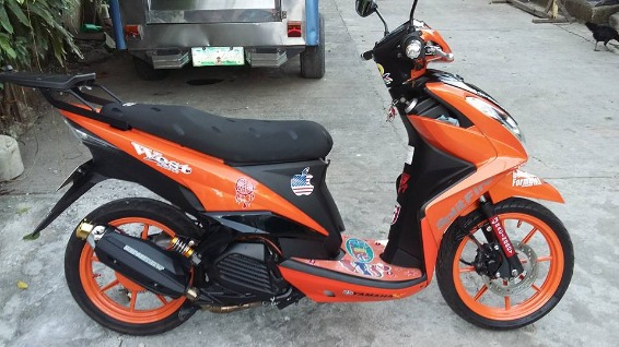 yamaha mio mx-i 125, 2013 model, mileage 13,197km photo
