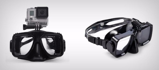Tempered Gopro Diving Goggles for Action Cameras photo