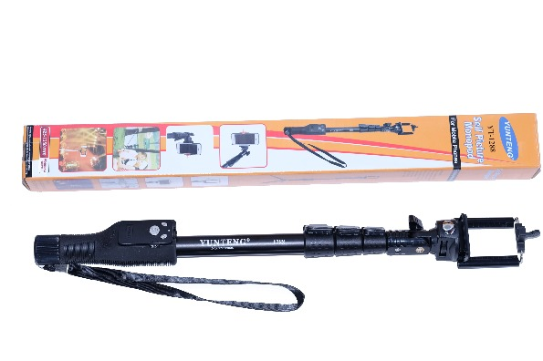 Yunteng YT-1288 Extendable Selfie Monopod with Bluetooth Shutter photo