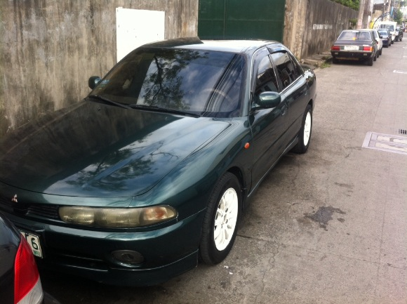 Mitsubishi galant vr6 95 model photo