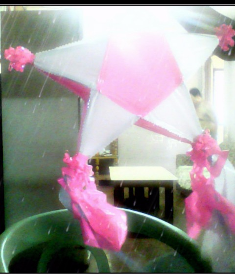 Wooden Star (Color Pink) photo