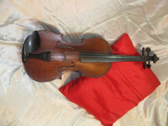 VINTAGE VIOLIN GERMAN COPY OF STRADIVARIUS C.1890 image 2