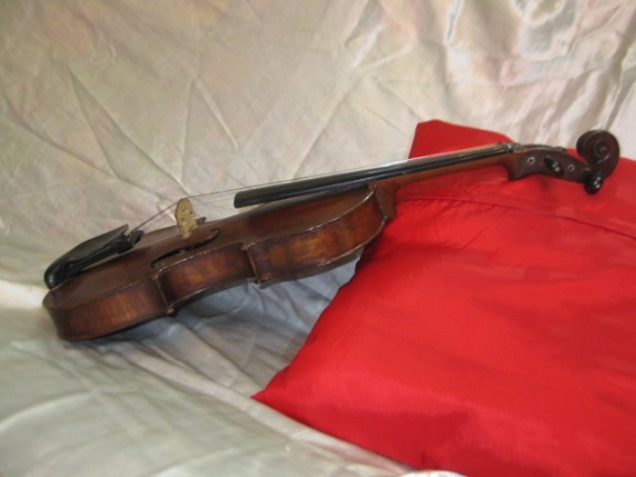 VINTAGE VIOLIN GERMAN COPY OF STRADIVARIUS C.1890 image 3