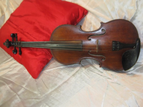 VINTAGE VIOLIN GERMAN COPY OF STRADIVARIUS C.1890 image 4