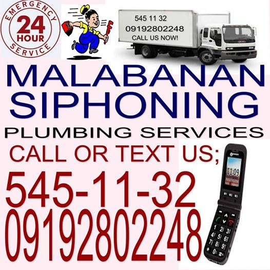 ANN MALABANAN SIPHONING PLUMBING SERVICES 5451132 / 09192802248 photo