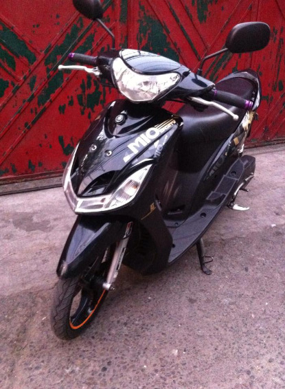Yamaha mio sporty black 2014 photo
