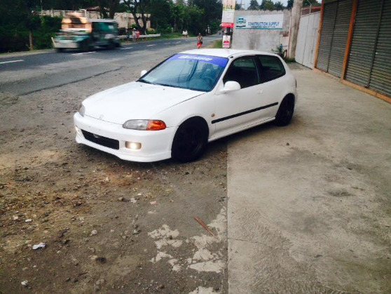 Honda Civic Hatchback 1994 Model Manual - Used Philippines