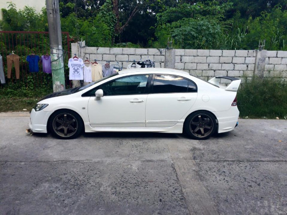 2006 honda civic fd 1.8s Matic tranny Tafetta white photo