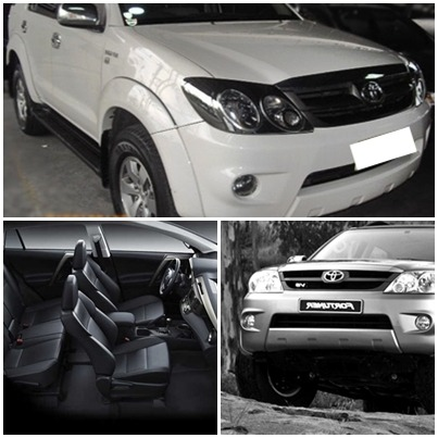 FORTUNER (White)-RENT HERE! photo