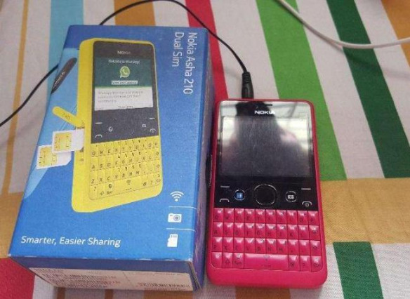 Nokia Asha 210 Dual Sim (Pink) photo