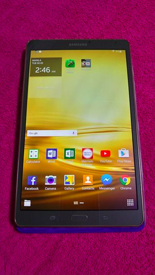 SAMSUNG TAB S 8.4 SM-T700 photo