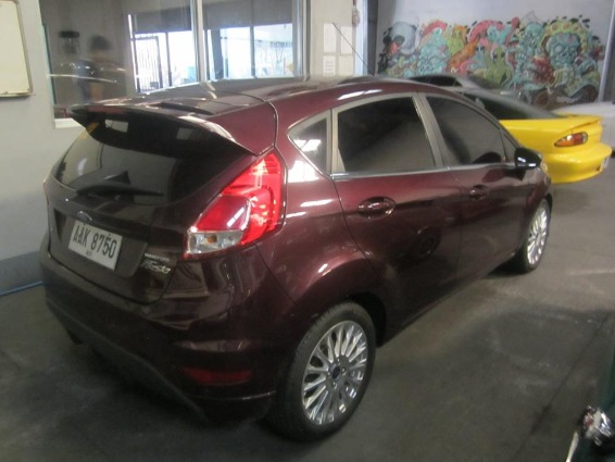 Ford Fiesta 2014 AT Hatch - 588T photo