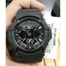 G shock black GA201 photo