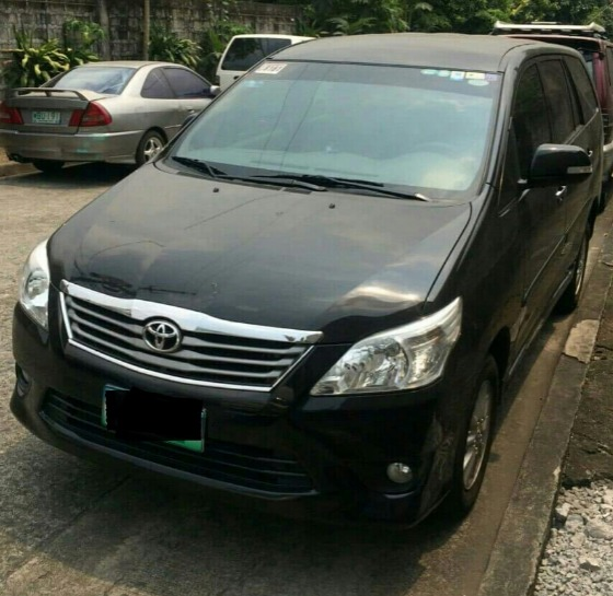 Toyota Innova 2.5G 2013 op of the line photo