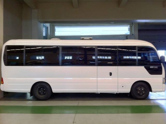 nissan coaster for rent in any point of luzon image 3