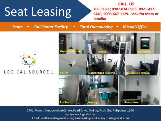 Call Center Seat Lease Ortigas photo