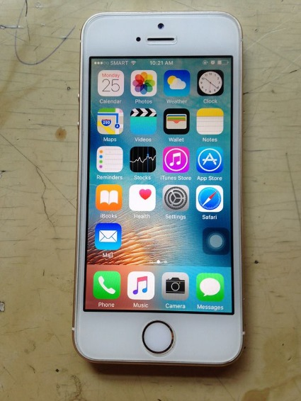 Iphone 5s gold 16gb photo