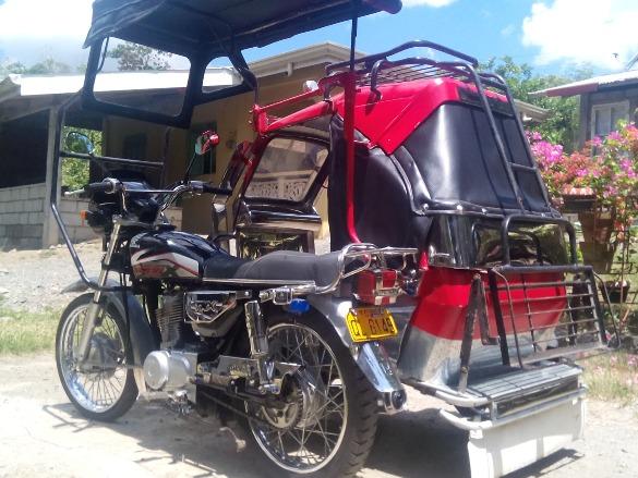 honda tmx 155 with sidecar