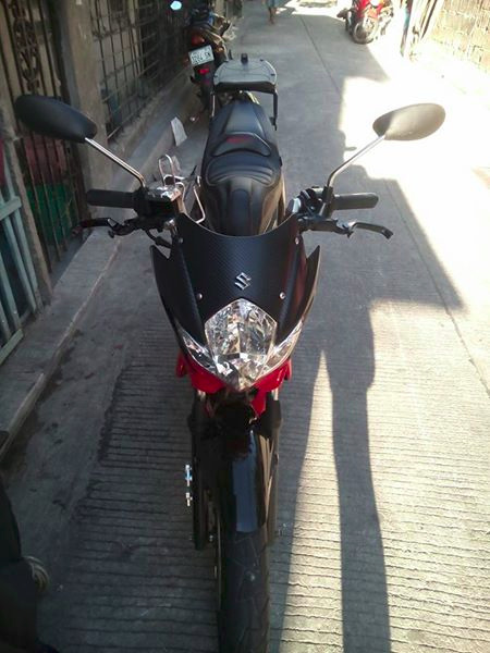 Suzuki raider 150 2013 model photo