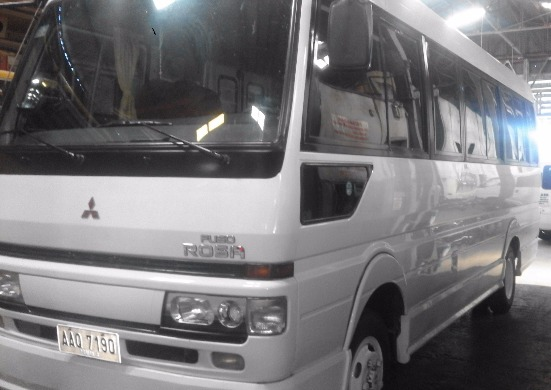Fuso Coaster for Rent photo