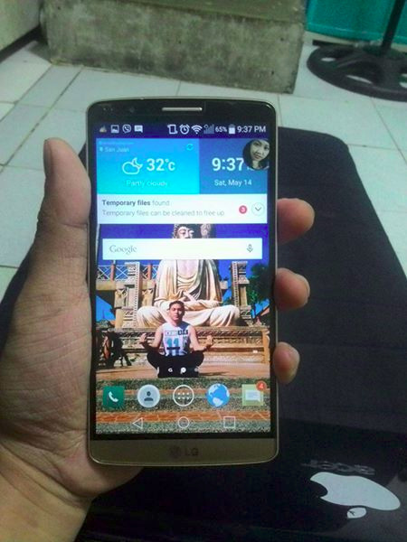 Lg g3 d855 gold openline photo