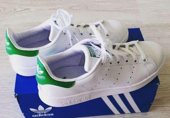 Stan smith adidas mens 9.5 photo