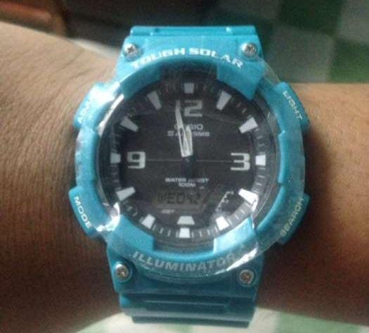 Tough casio orig skyblue at illuminator photo