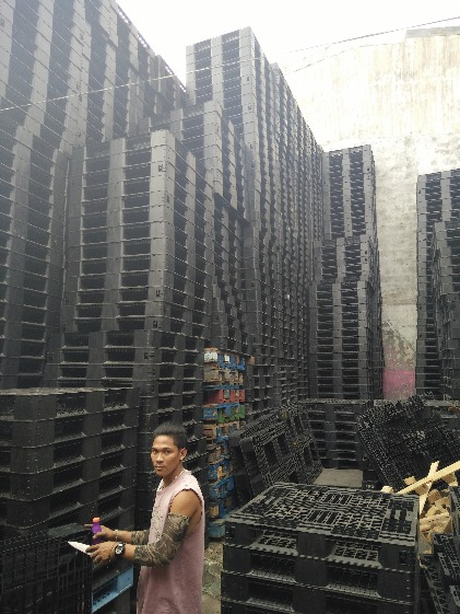 FOR SALE! PLASTIC PALLET MEDIUM DUTY image 2