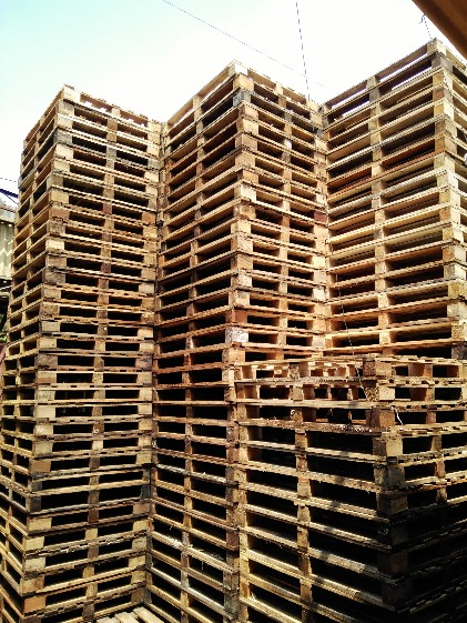We accept made to order wooden pallet second hand photo