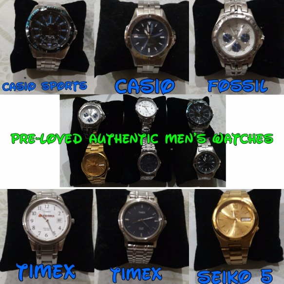 Pre-loved Authentic Ladies, Men's, and Couple Watches image 2