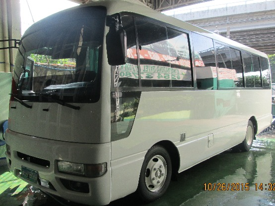 Fuso Coaster for Rent image 2