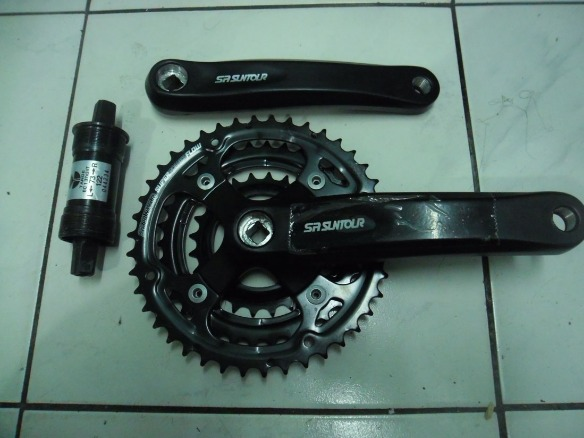 mtb Parts - Suntour Power Flow Crank photo