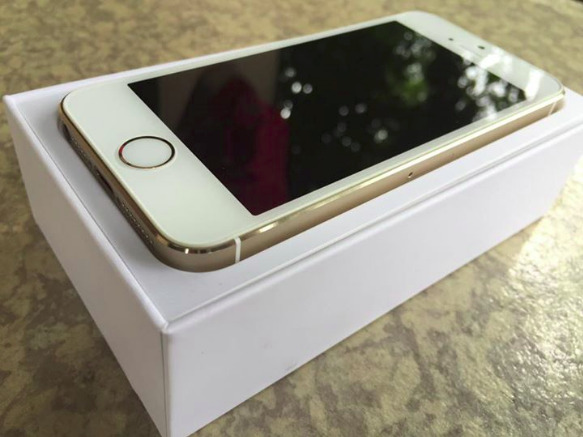 Complete iphone 5s Gold factory unlocked image 3
