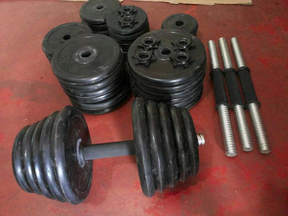 Rubberized Dumbells photo