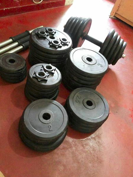 Rubberized Dumbells image 3